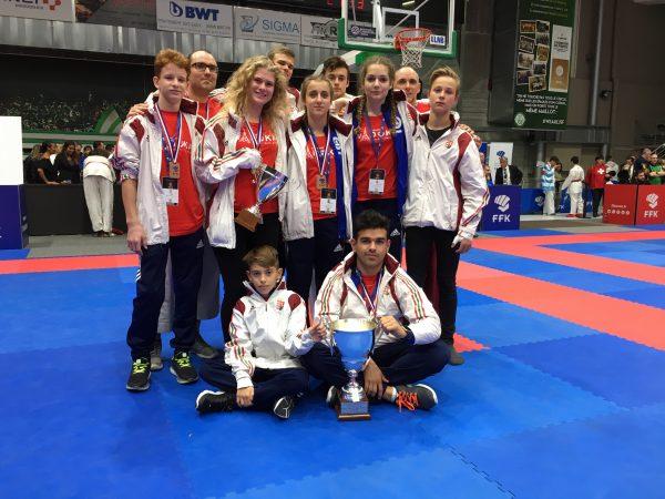 Szentendrei karate sikerek a Párizsi Európa Bajnokságon