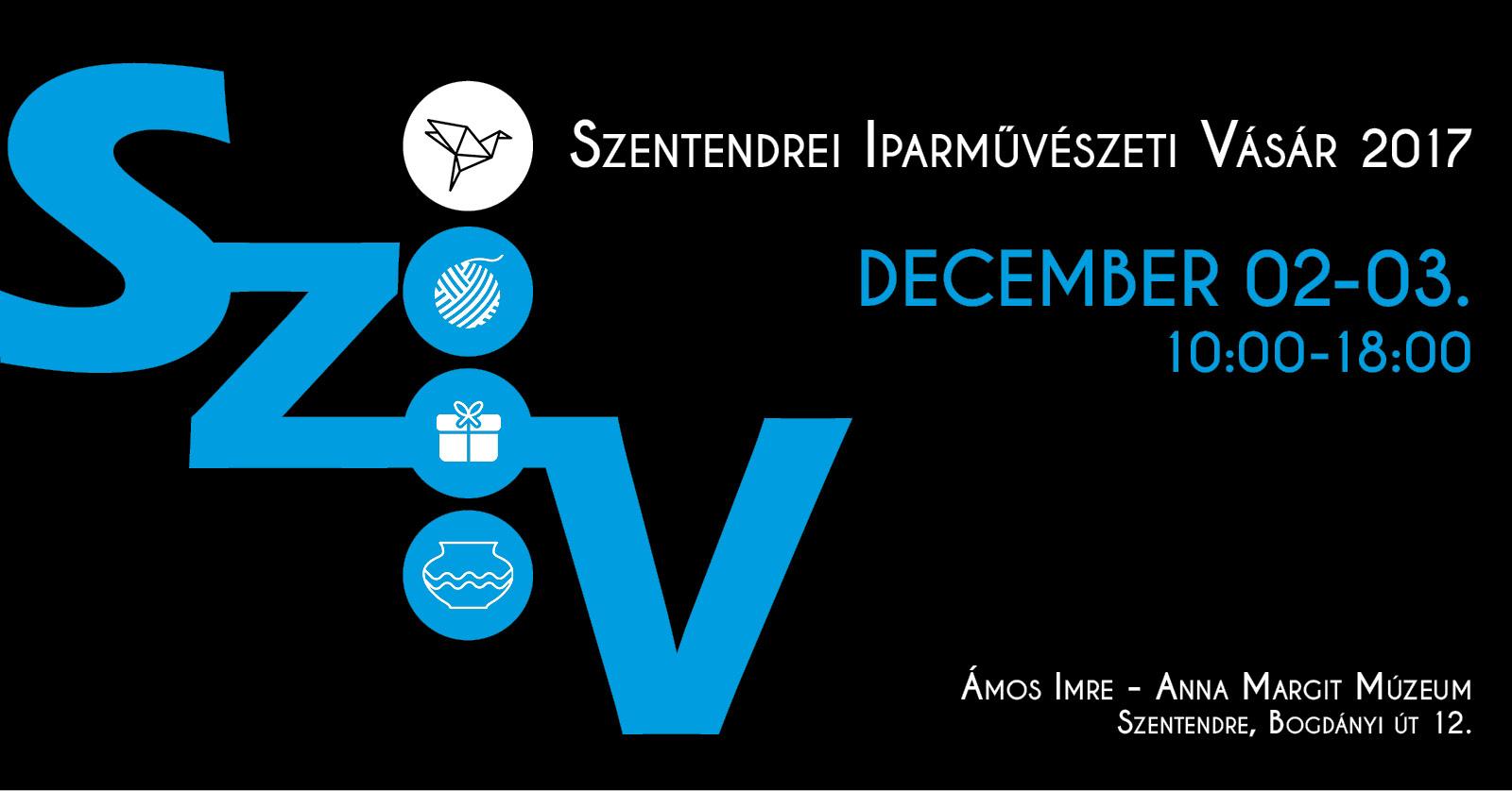 Szentendrei Iparművészeti Vásár, december első hétvégéjén
