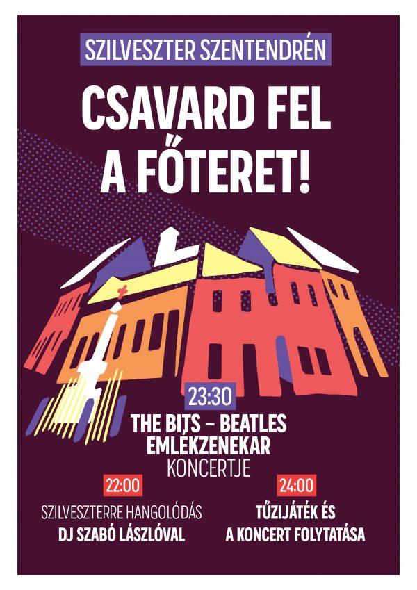 Beatles Szilveszter a Fő téren!