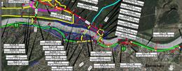 2019. 05. TANULMÁNYTERV ÚTÉPÍTÉS – Áttekintő térkép