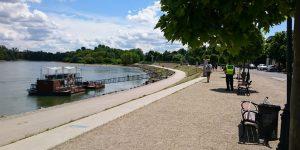 A Duna-korzón a szabadidős sportolás, gyaloglás megengedett