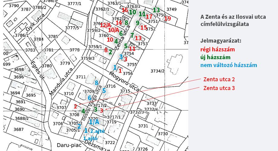 Zenta és Ilosvai utca